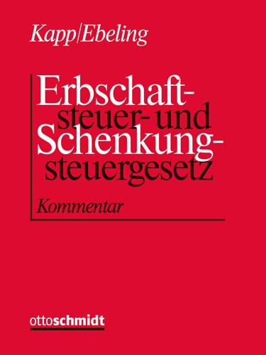 Erbschaftsteuer- und Schenkungsteuergesetz (Grundwerk ohne Fortsetzungsbezug)