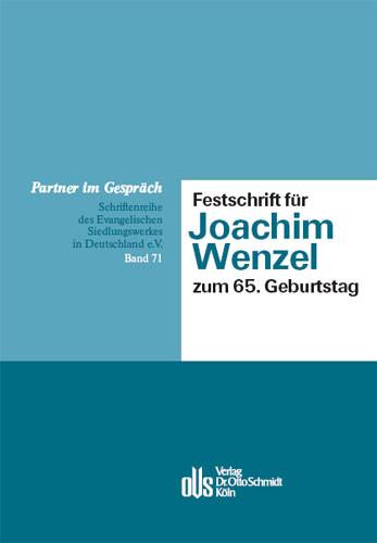 Festschrift für Joachim Wenzel zum 65. Geburtstag