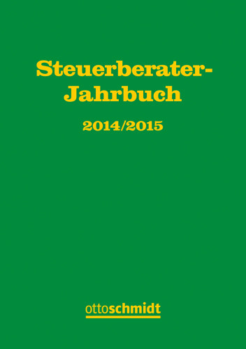 Steuerberater-Jahrbuch 2014/2015