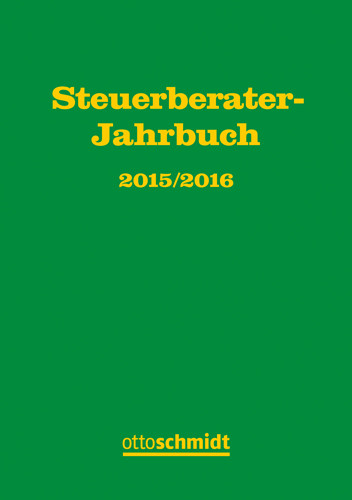 Steuerberater-Jahrbuch 2015/2016