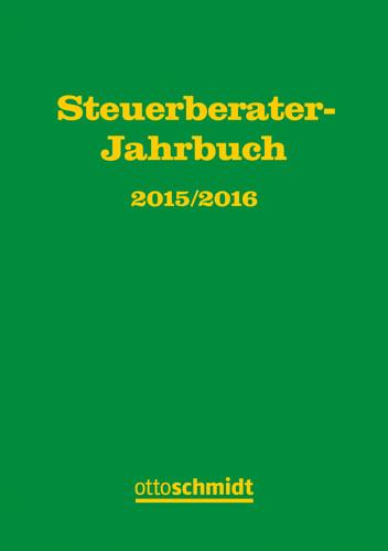 steuerberater jahrbuch 2015 2016 b cher verlag dr. Black Bedroom Furniture Sets. Home Design Ideas