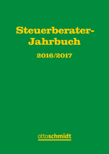 Steuerberater-Jahrbuch 2016/2017