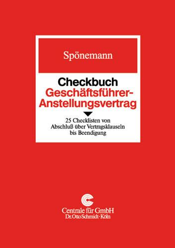 Checkbuch Geschäftsführer-Anstellungsvertrag