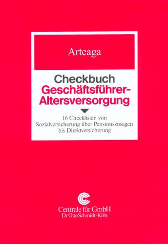 Checkbuch Geschäftsführer-Altersversorgung