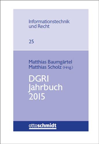 DGRI Jahrbuch 2015