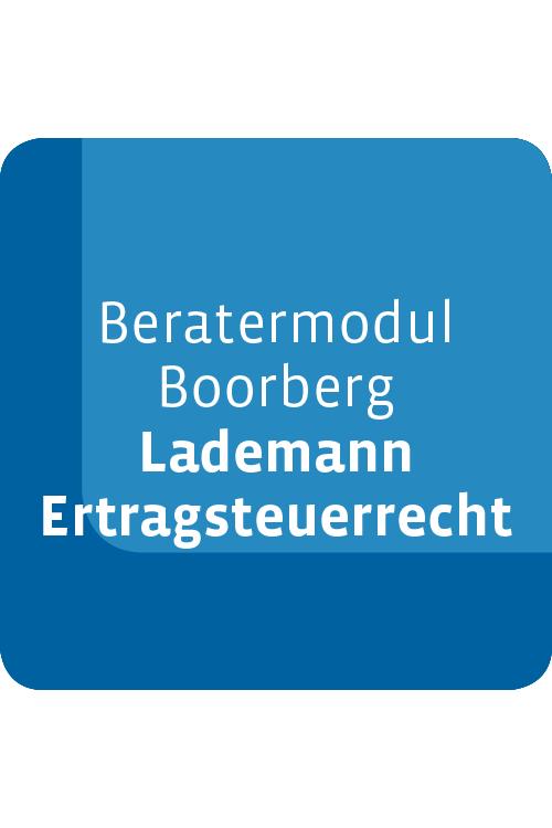 Beratermodul Boorberg Lademann Ertragsteuerrecht