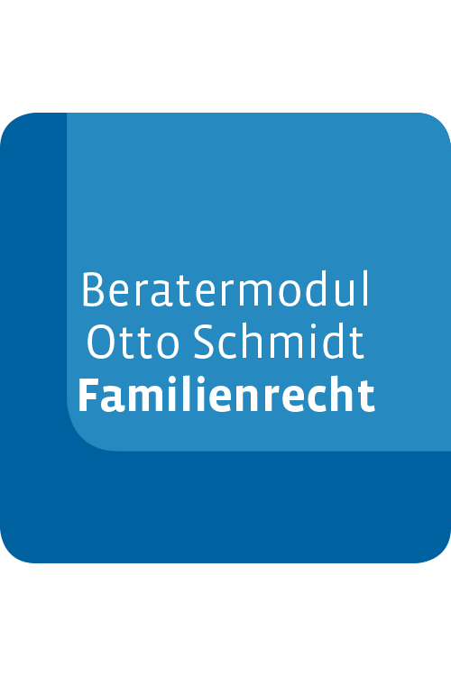 Beratermodul Familienrecht