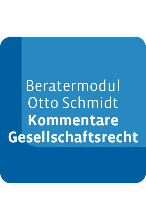 Beratermodul Kommentare Gesellschaftsrecht