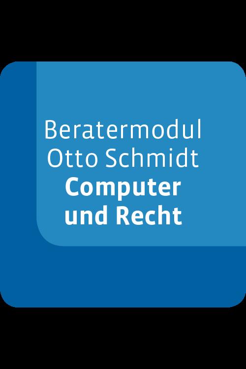 Beratermodul Otto Schmidt Computer und Recht