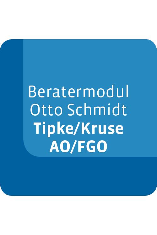 Beratermodul Otto Schmidt Tipke/Kruse AO/FGO