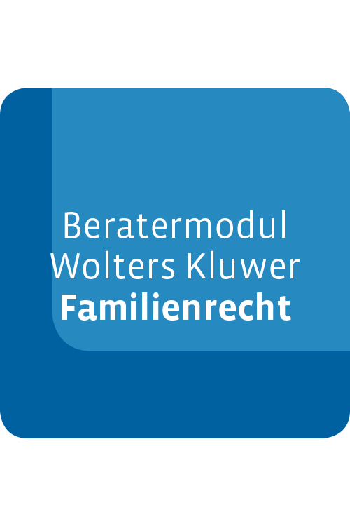 Beratermodul Wolters Kluwer Familienrecht