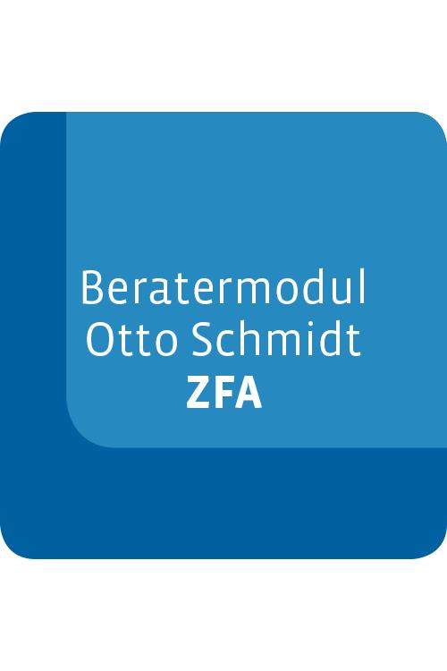 Beratermodul Otto Schmidt ZFA