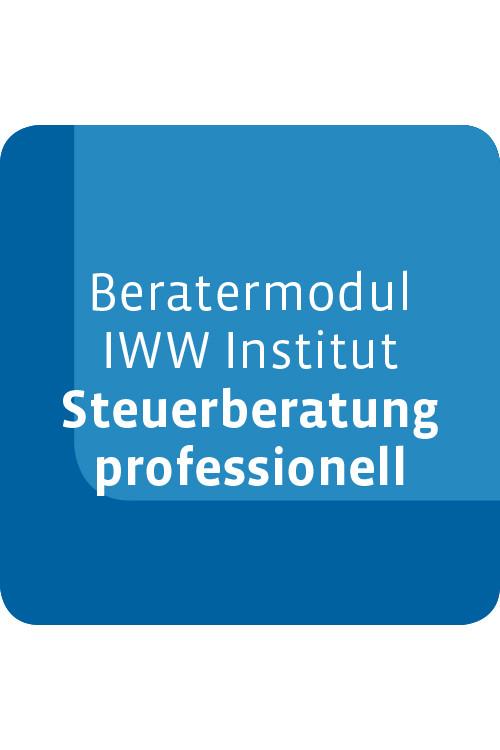 Beratermodul IWW Institut Steuerberatung professionell