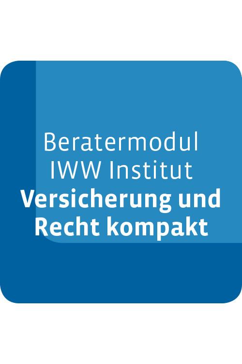 Beratermodul IWW Institut Versicherung und Recht kompakt