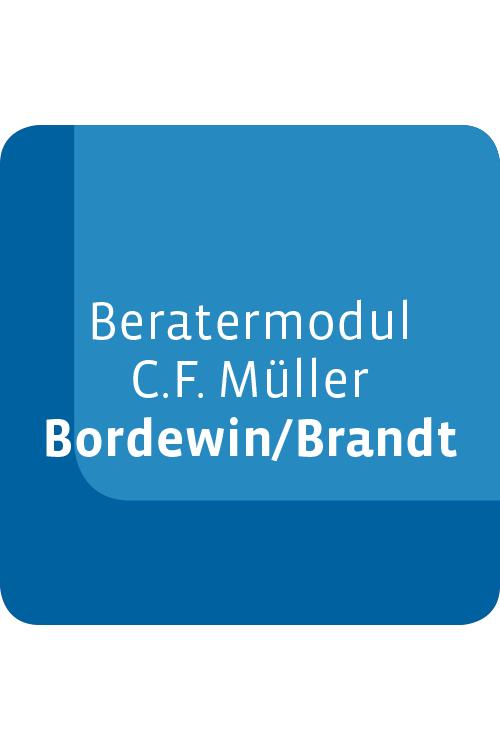 Beratermodul C.F. Müller Bordewin/Brandt Einkommensteuergesetz