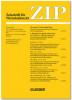 ZIP – Zeitschrift für Wirtschaftsrecht