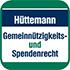 Hüttemann Gemeinnützigkeitsrecht