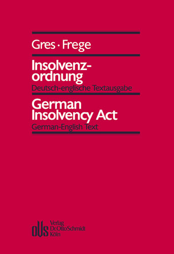 Ansicht: Insolvenzordnung - German Insolvency Act