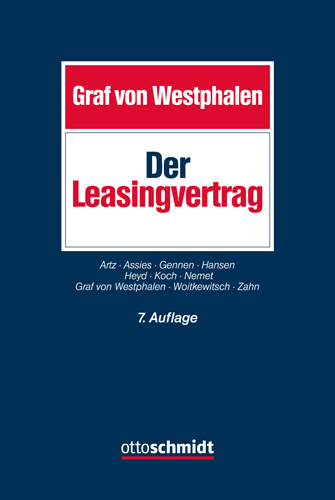 Ansicht: Der Leasingvertrag