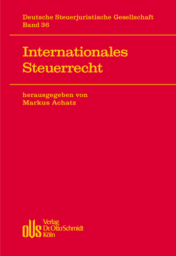 Ansicht: Internationales Steuerrecht