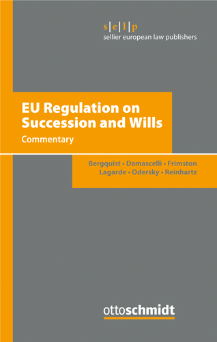 Ansicht: EU Regulation on Succession and Wills