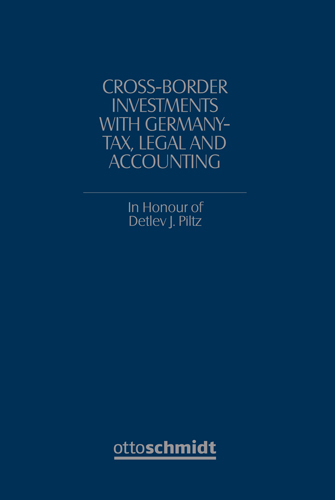 Ansicht: Cross-Border Investments with Germany - Tax, Legal and Accounting